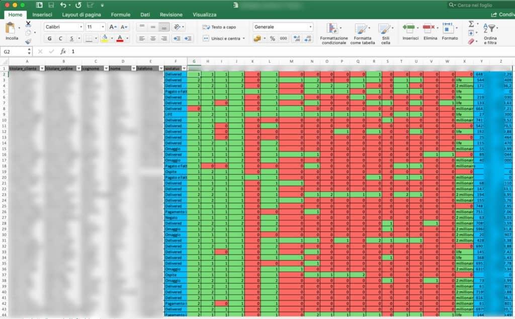 vtiger integrato con Excel